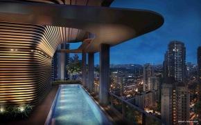 Sky Terrace pool