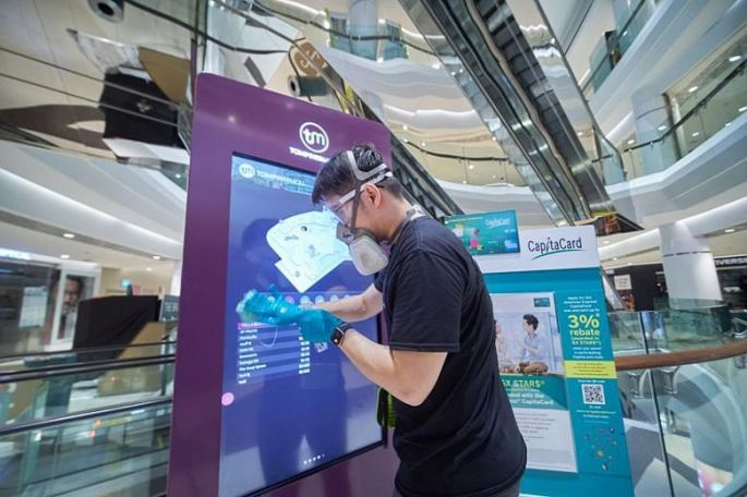 300520 - Capitaland to deploy tech for disinfection in Malls